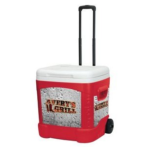 Red Star Igloo® Latitude 60Qt Roller Cooler