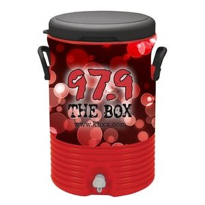 Igloo� 10 Gallon Beverage Cooler Red